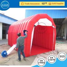 TOP INFLATABLES Hot sale trade show halloween inflatable bubble lodge tent with low price