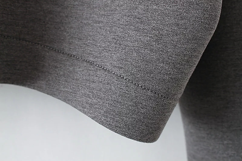 Grey Visco-Elastic hoodies women and men 2017 high quality OEM Guangzhou garments factory