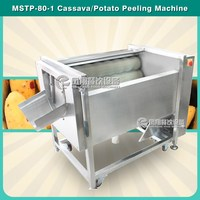 MSTP-80 taro carrot washing and peeling machine
