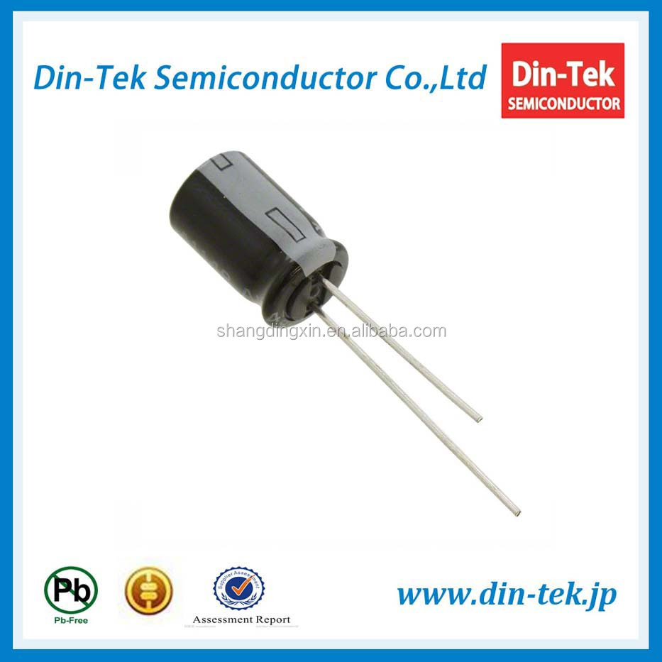 470UF 10V 6*7 Through hole Aluminum electronic capacitor