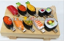 Funny sushi model USB 2.0 Full Memory Stick Flash pen Drive