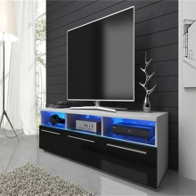 Guangzhou home new style tv stand and furniture rattan tv stands