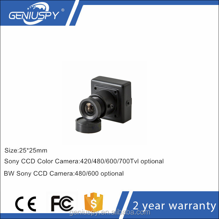 25*25mm 480TVL Sony CCD Security CCTV Mini Ccd Camera Nextchip 2090+632\633 DSP For Aerial Photograph Industrial Camera