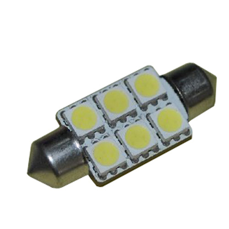 Auto dome light 12v led lamp car 36mm festoon