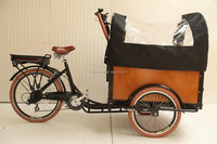 Dutch style Aluminium alloy frame family cargo used chinese electric bike price