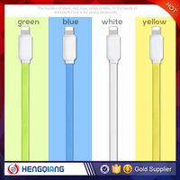 Flat Noodle Style 8-pin USB Date Cable Charge And Sync Fast For iPhone 6