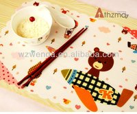 kids dining table mats table plate mat