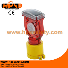 Red Color Solar Flashing Wand Of Traffic Cone
