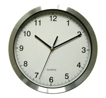 Small round metal wall clock/ home decor metal wall clock