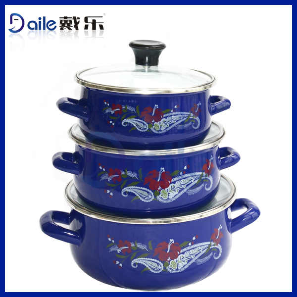 Enamelware Casserole magic cookware