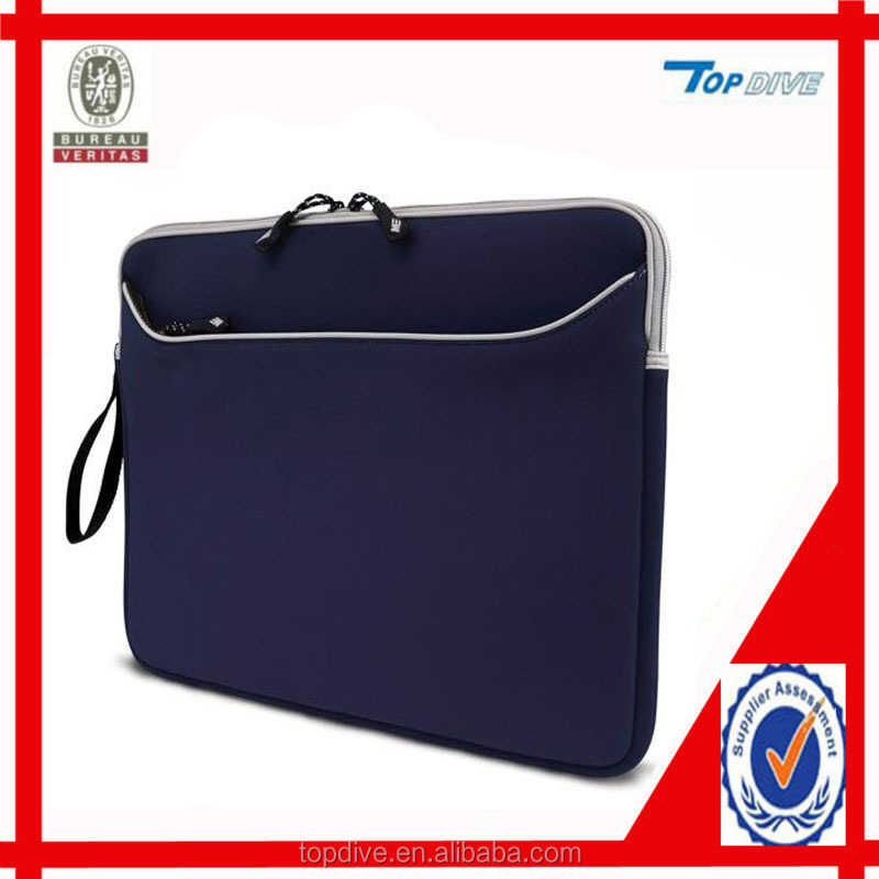 Neoprene laptop sleeve computer bag case