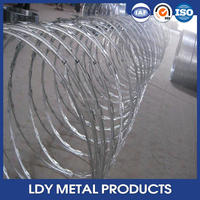 Low price razor barbed wire mesh fence toilet seat
