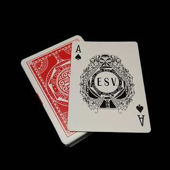 Casino grade quality poker size linen playing cards wholesale
