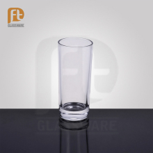 Resaturant use promotional customized tall galssware/water drinking glass