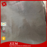 Ultra Thin RFID blocking shielding electrical silver conductive fabric for gloves wallet bags lining