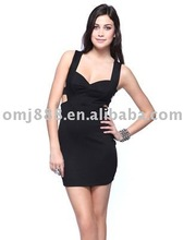 Latest Lady's fashion summer dress party dress