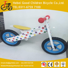 High quality 12inch wooden balance bike for kids and children from china