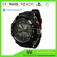 DW1379 WAH SHUN New Arrival Cool Military Watches For Army Men