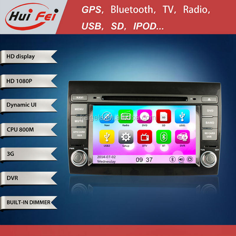 Gps navigation for Fiat Bravo 2007-2012