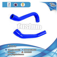 Factory made Cheaper Motorcycle Silicone radiator hose Kits used for Japanese car