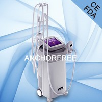 Vacuum Liposuction+Bipolar RF+Infrared Laser+Roller Massage Machine Body Shape Massage and Loss Weight