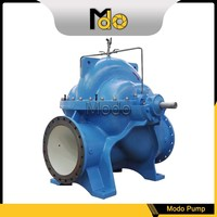 Big water flow double suction high capacity split casing centrifugal pump supplier