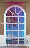 polyester jacquard string curtain