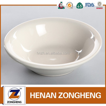 "4.8"" ceramic round soup bowl with turn up rim, stock stoneware dinnerware"