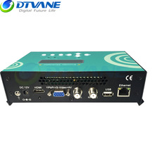(DMB-9591) DVB-T2 HDMI To RF Modulator MPEG4 Encoder Modulator For Digital TV IPTV Headend Radio & TV Broadcasting Equipment