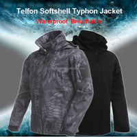 Newly SoftShell lightweight Waterproof Uniform Typhon Telfon Men Jacket