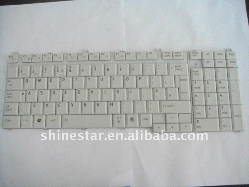 New and original laptop keyboard for TOSHIBA P300 L350 L355 L500