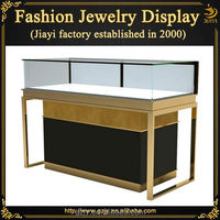 Fashion glass cabinet jewelry merchandising displays,jewelry showcase and retail counter