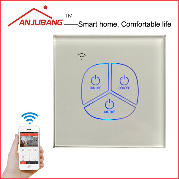 smart remote control, Zigbee electrical switch, wall light switch with Led back light glass board