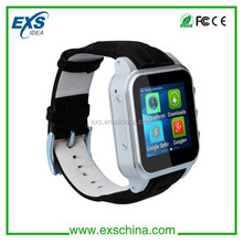 2015 cdma watch phones for waterproof ip67 android smart watch/android smart phone watch