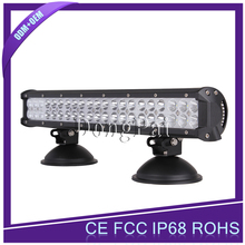 12v 24v 126w 4x4 cheap led light bar 20inch iP68 waterproof car bumper led lights, car roof top light bar for trucks