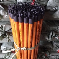 120X2.2cm PVC coated wood broom sticks with Italian thread hot sell in Egypt
