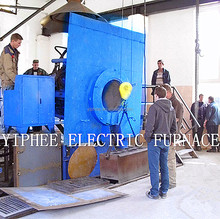 2ton capacity electric induction melting furnaces