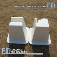 the line and corner cones of Fencemaster Dressage Arenas