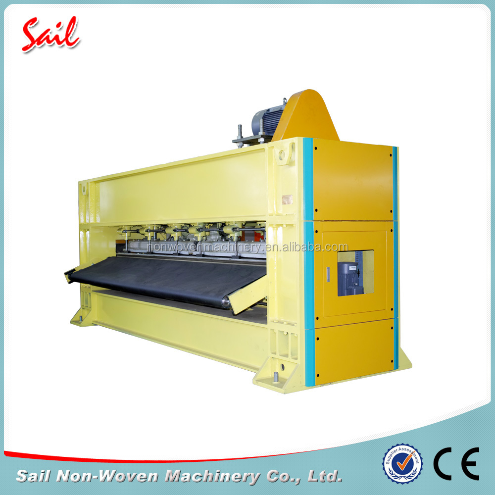Nonwoven exhibition wool fur rug carpet needle loom jute rug needle punching machine