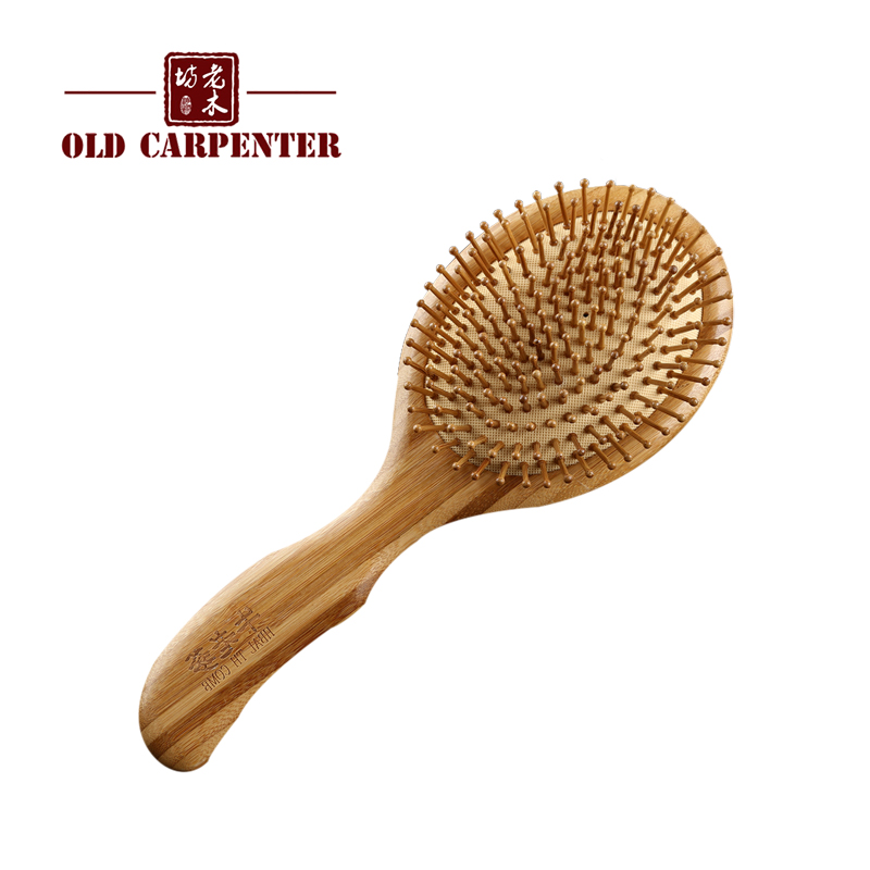 Nature wide tooth design beard comb beech wood in comb