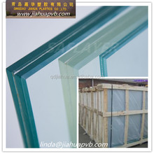 1.52 MM THICK pvb film for laminated tempred BULLETPROOF glass