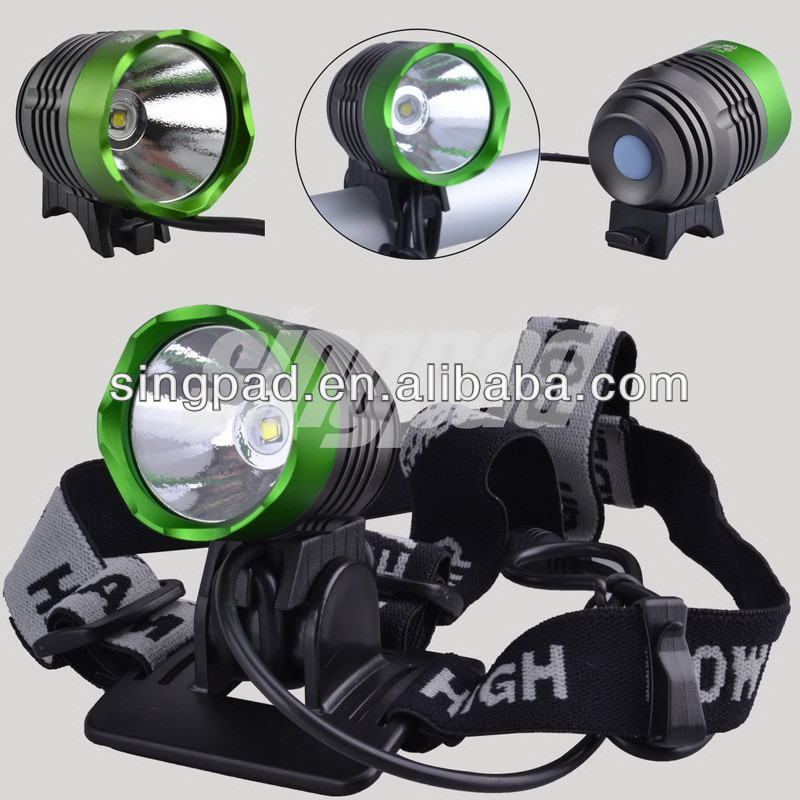 4.2v 8800mAh led t6/<strong>u2</strong> waterproof rechargeable bike light and headlamp