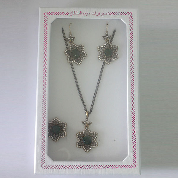 22 k gold plated vogue jewelry sets wholesale Dubai made in china