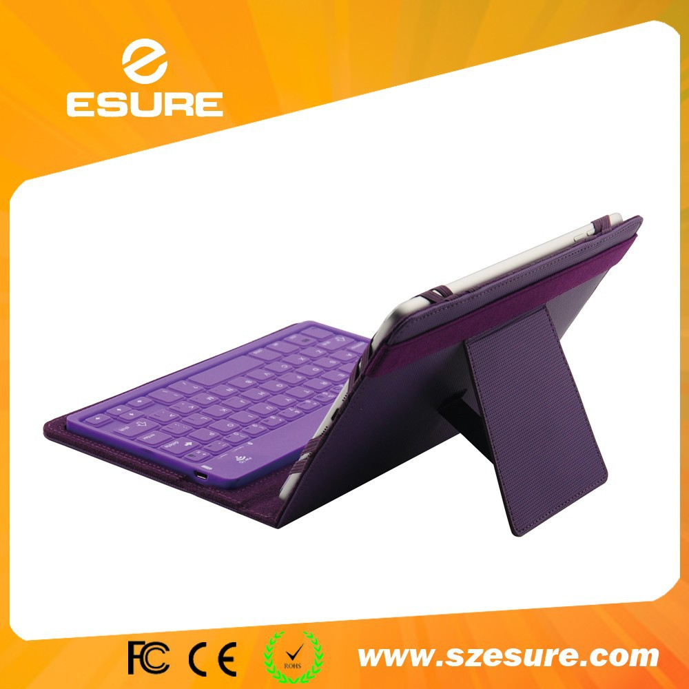 Silicone universal bluetooth keyboard case for galaxy tab s 8.4 sm t705