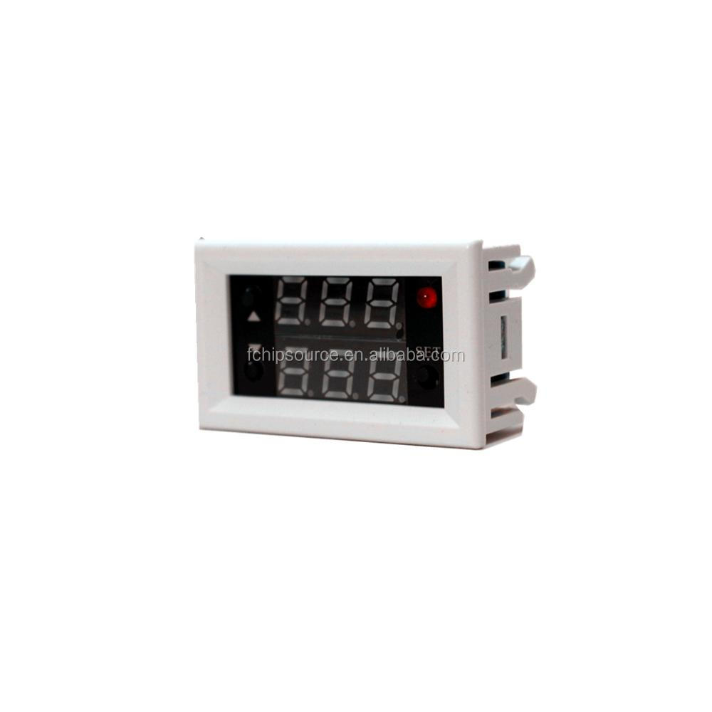Mini Embedded digital display time delay relay Time delay/ cycle relay 18 kinds of function