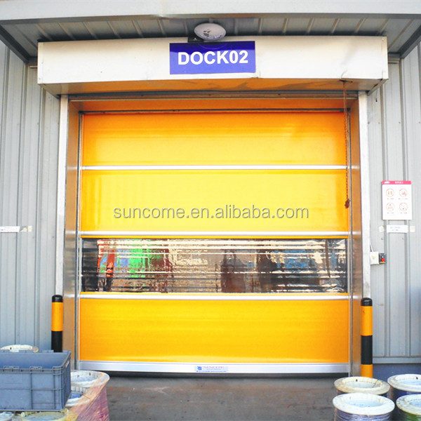 high speed automatic pvc shutters /exterior fast roll door