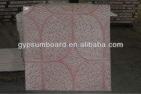 Environmental protection outdoor ceiling tiles/Pvc gypsum ceiling tiles