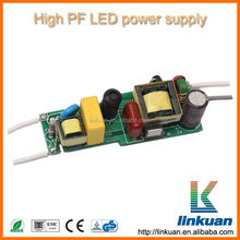 UL Certified Open Frame 12v 1W 2W 3W 6W 9W 12w 24w mr16 led driver With 5 years warranty