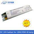 24V DC Electronic Ballast for 18W 30W T8 Lamp