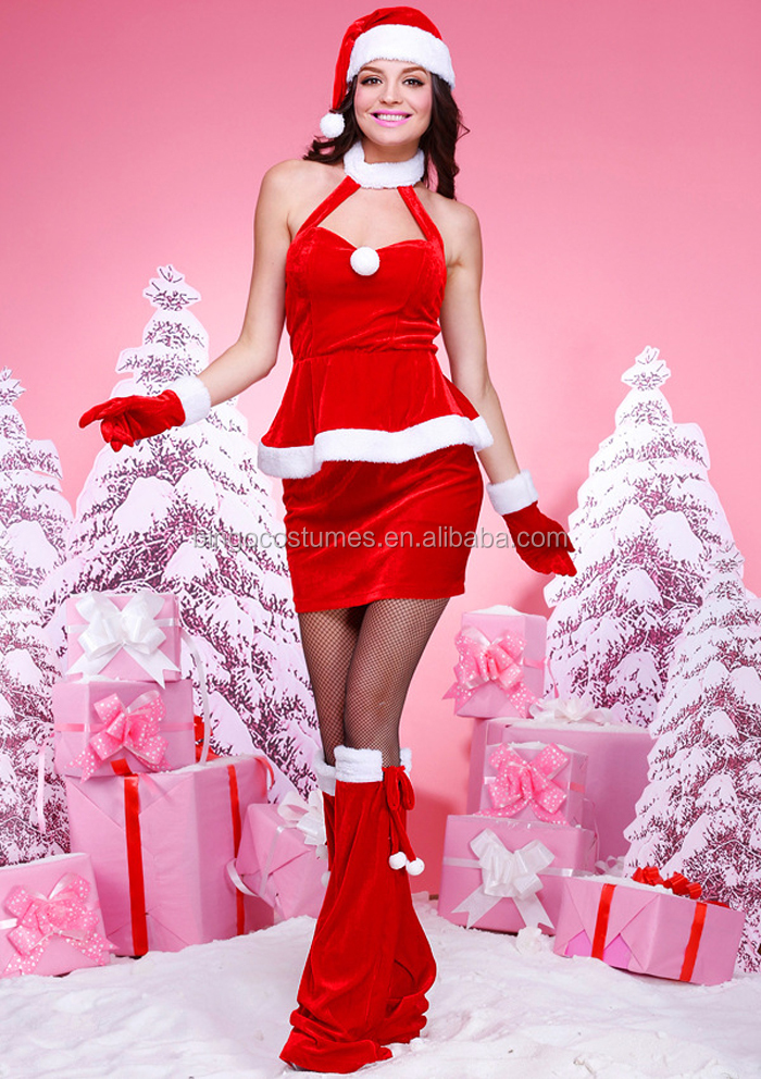 Unique Fat Women Sexy Christmas Costumes